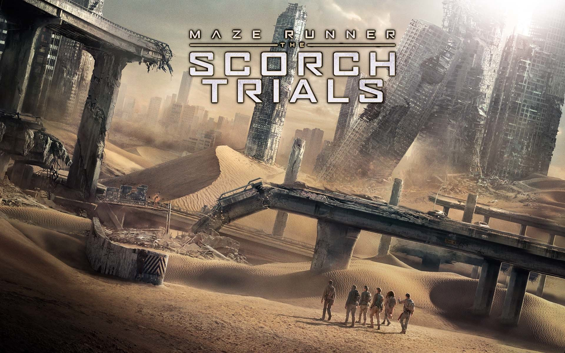 Maze Runner The Scorch Trials Fondo De Pantalla Hd Fondo