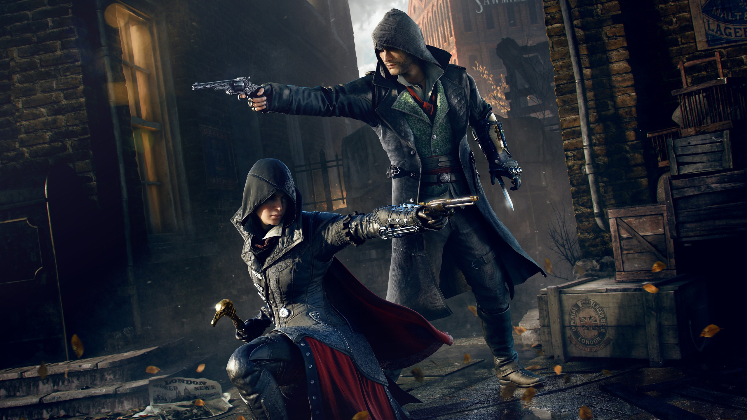 Assassin 39 s creed syndicate computer wallpapers desktop - Evie wallpaper ...
