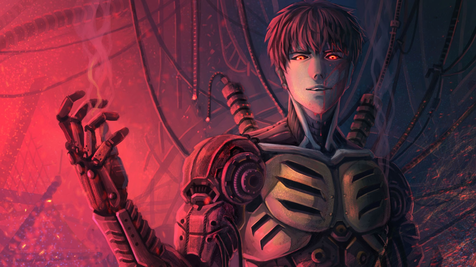 genos wallpaper and background 1600x900 id654233