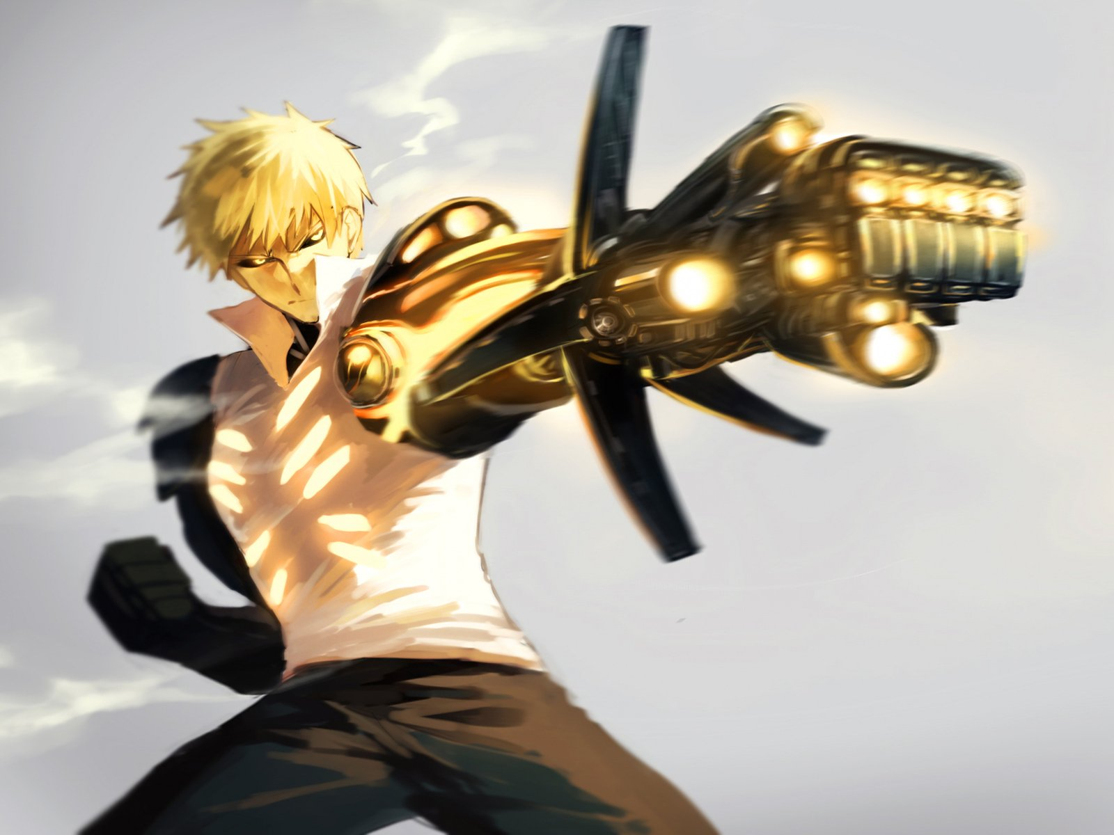 150 Genos One Punch Man Hd Wallpapers Background Images