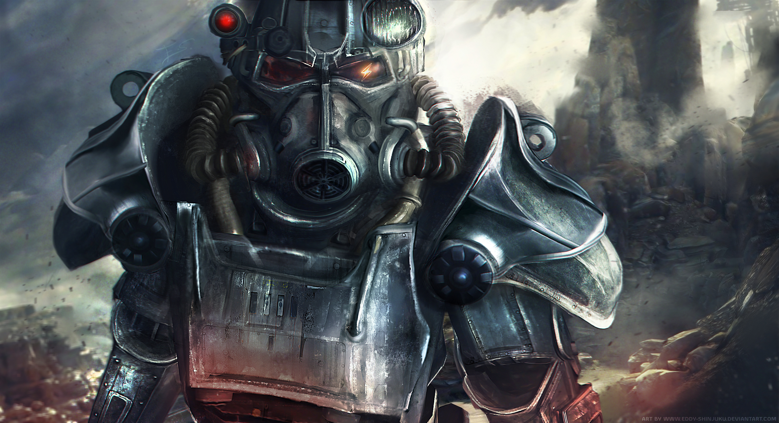 Power Armor: The Dents and the Cracks. 655648