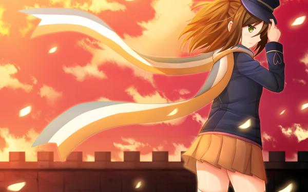 Anime AntiMagic Academy 35th Test Platoon Mari Nikaido HD Wallpaper | Background Image