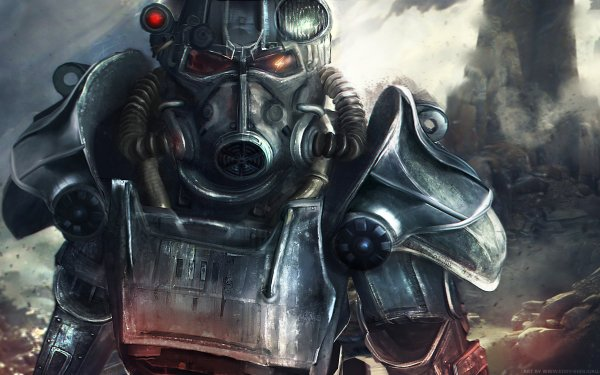 Video Game Fallout 4 Fallout Power Armor HD Wallpaper | Background Image