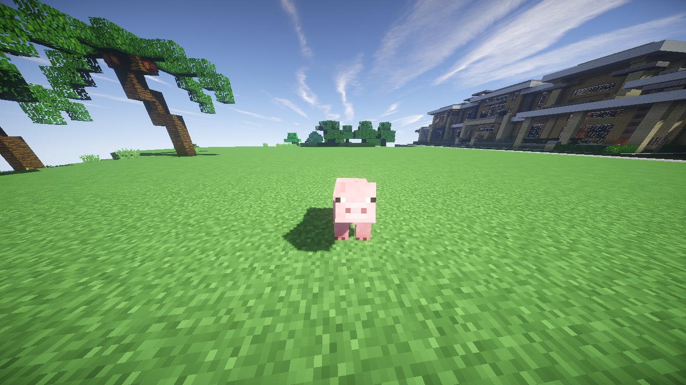 how to make a pig in minecraft