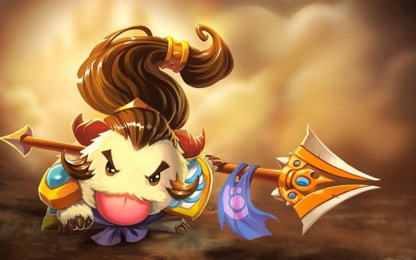 Video Game League Of Legends Xin Zhao Poro HD Wallpaper | Background Image