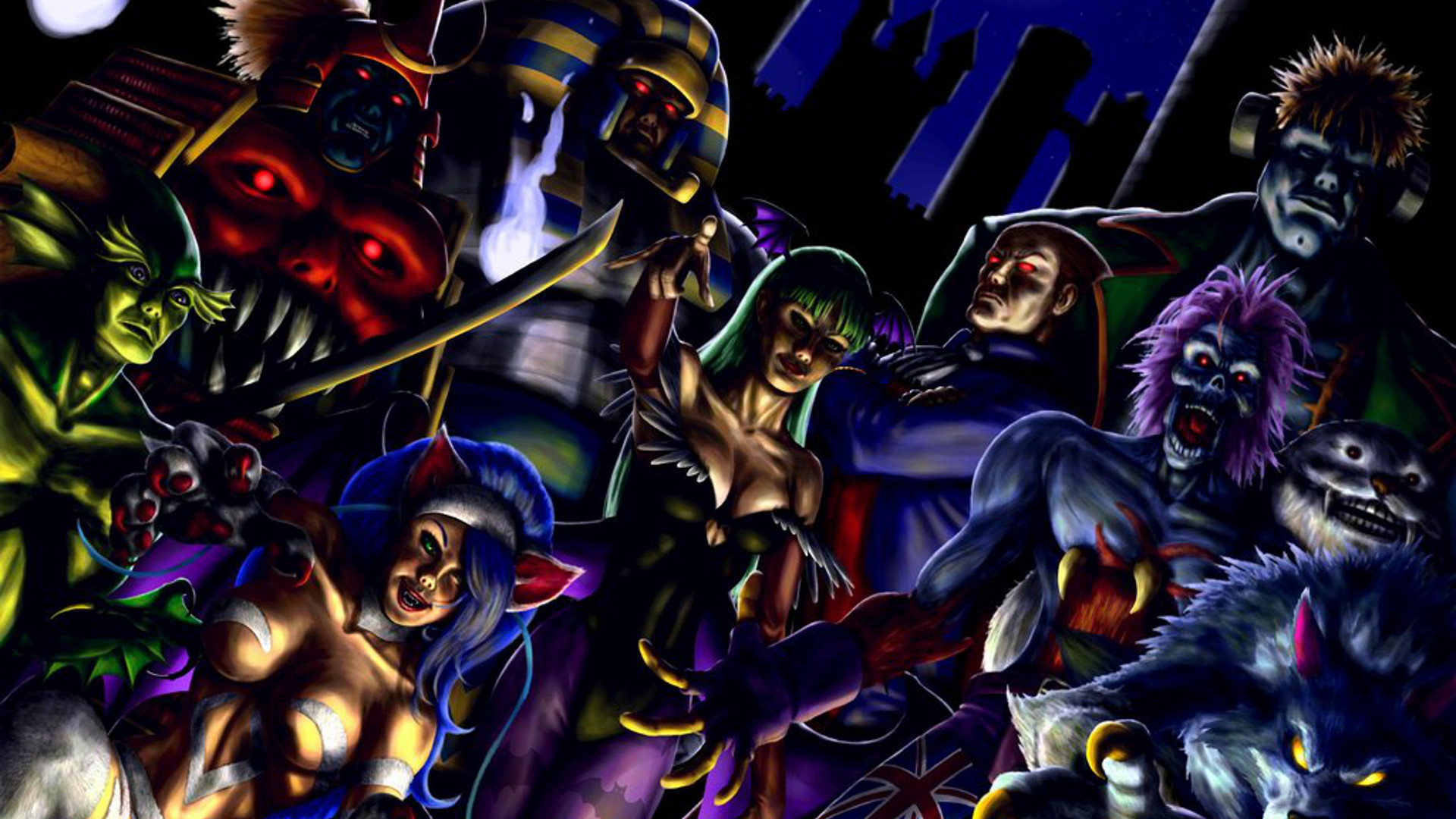 Darkstalkers Full HD Wallpaper and Background Image ...