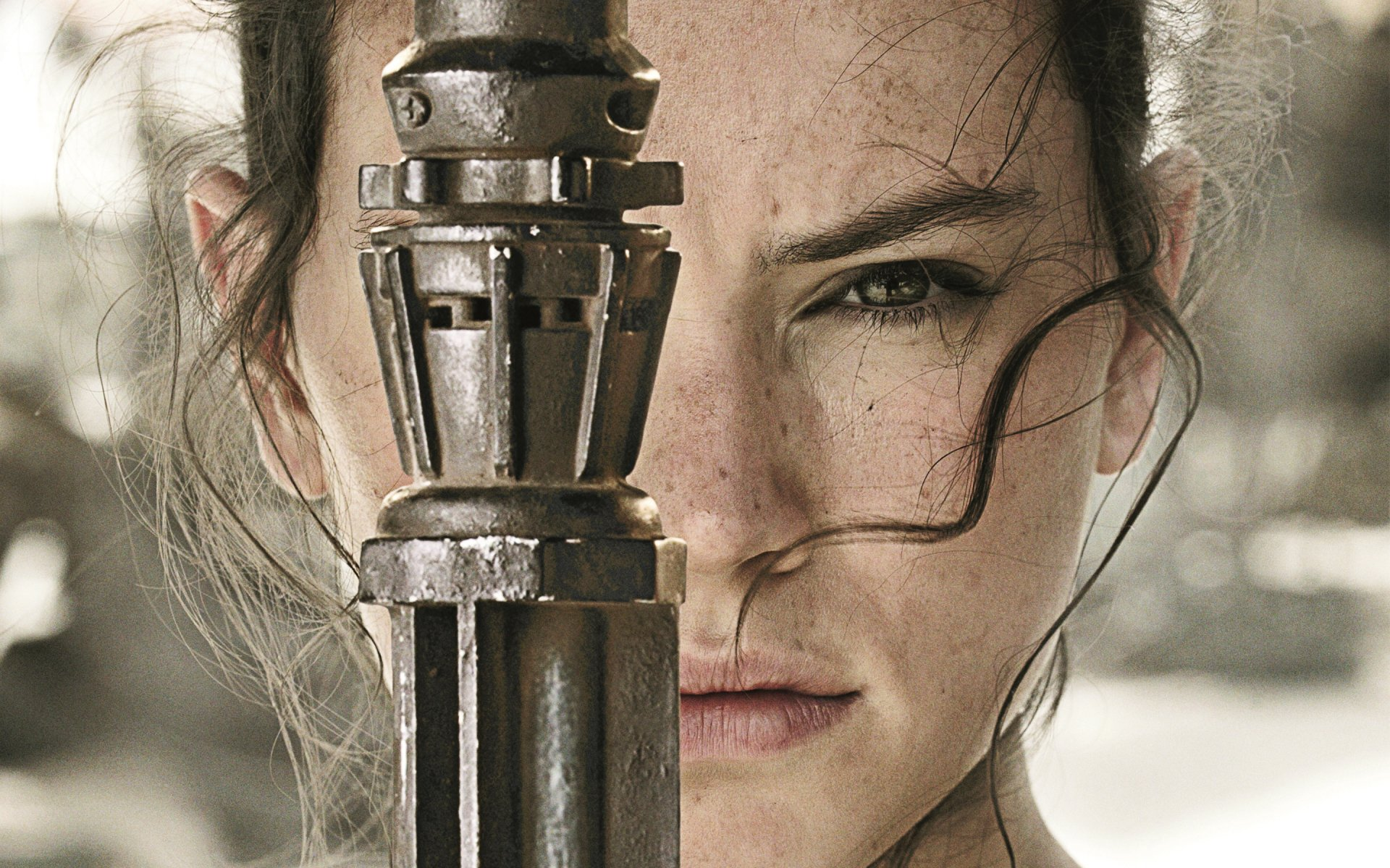 Movie - Star Wars Episode VII: The Force Awakens  Daisy Ridley Rey (Star Wars) Star Wars Wallpaper