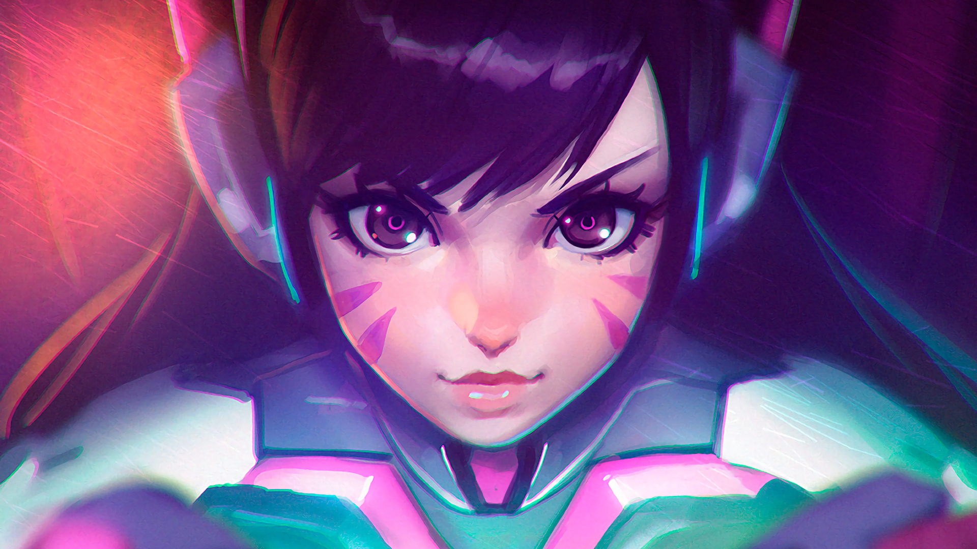 308 D Va Overwatch Hd Wallpapers Background Images Wallpaper Abyss