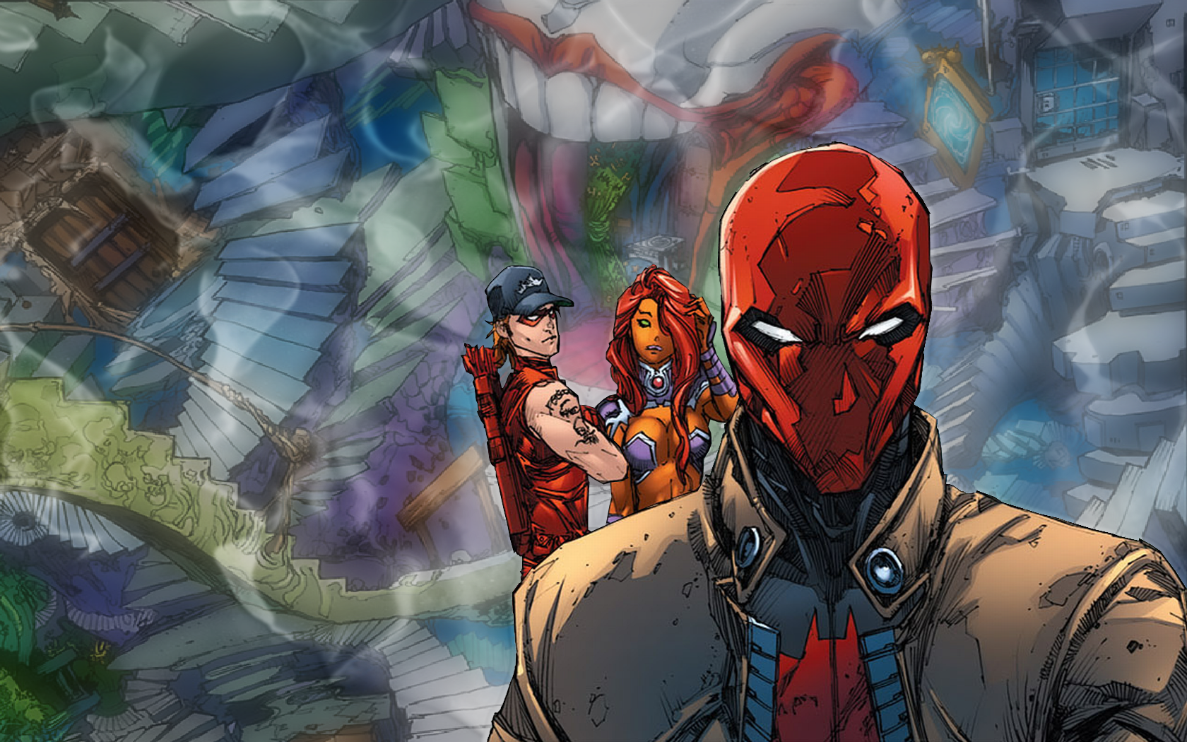 Red Hood And The Outlaws Wallpaper And Background Image