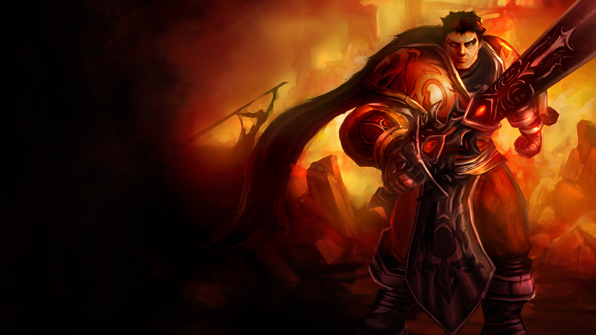 Iphone wallpaper league of legends - Jeux Vid 233 O League Of Legends Garen Fond D 233 Cran