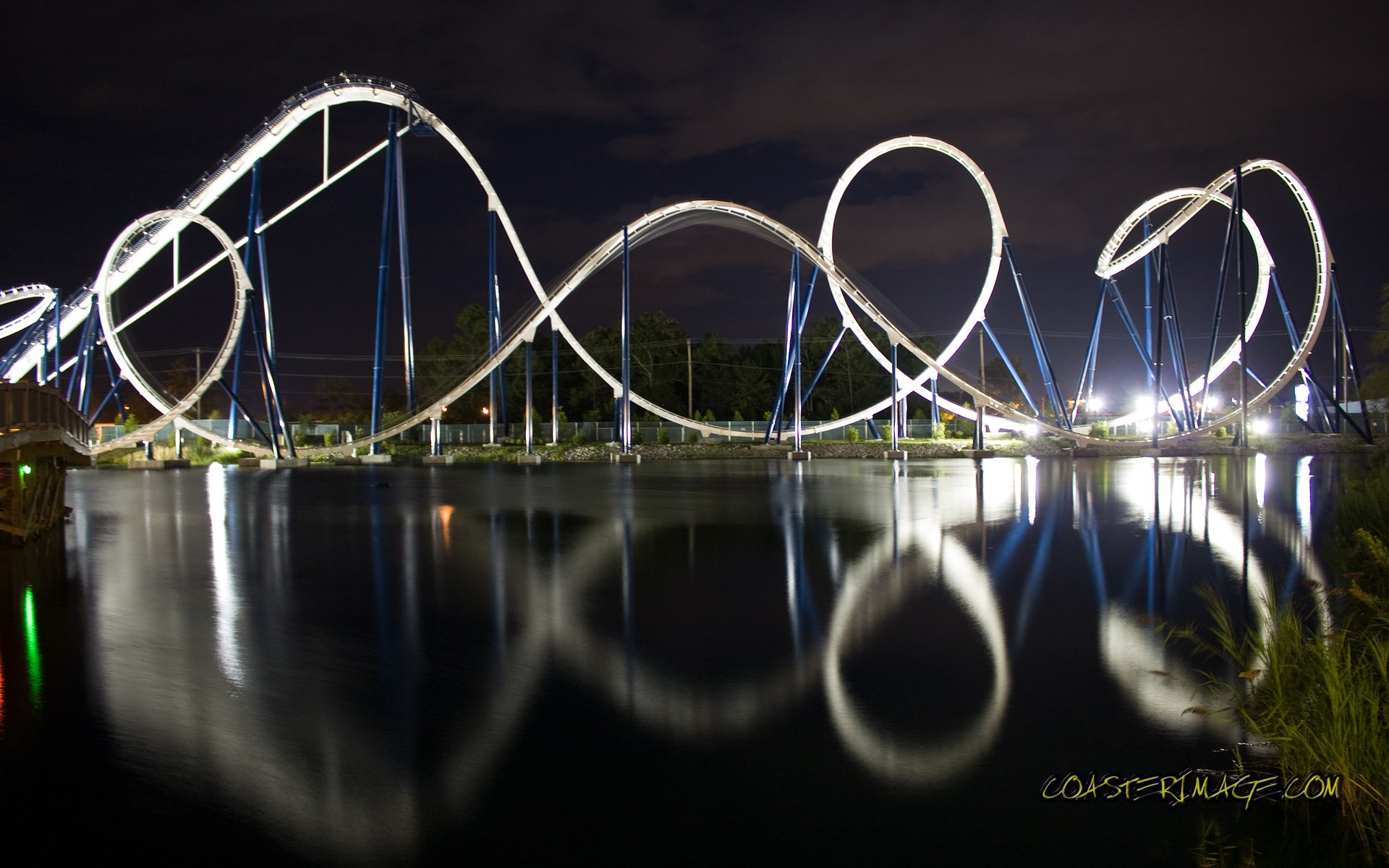 10 roller coaster hd wallpapers | background images - wallpaper abyss
