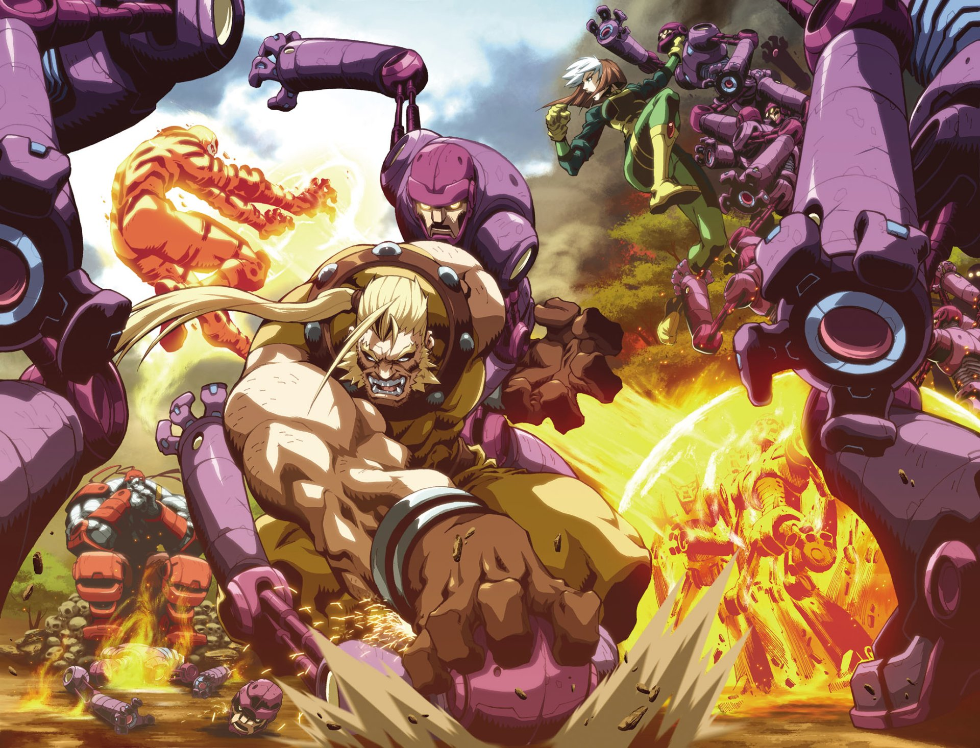 Age Of Apocalypse Full HD Wallpaper and Background Image ...