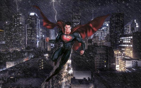 Movie Man Of Steel Superman Metropolis HD Wallpaper | Background Image