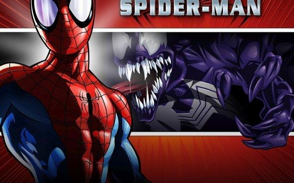 Jeux Vidéo Ultimate Spider-Man Spider-Man Venom Fond d'écran HD | Image