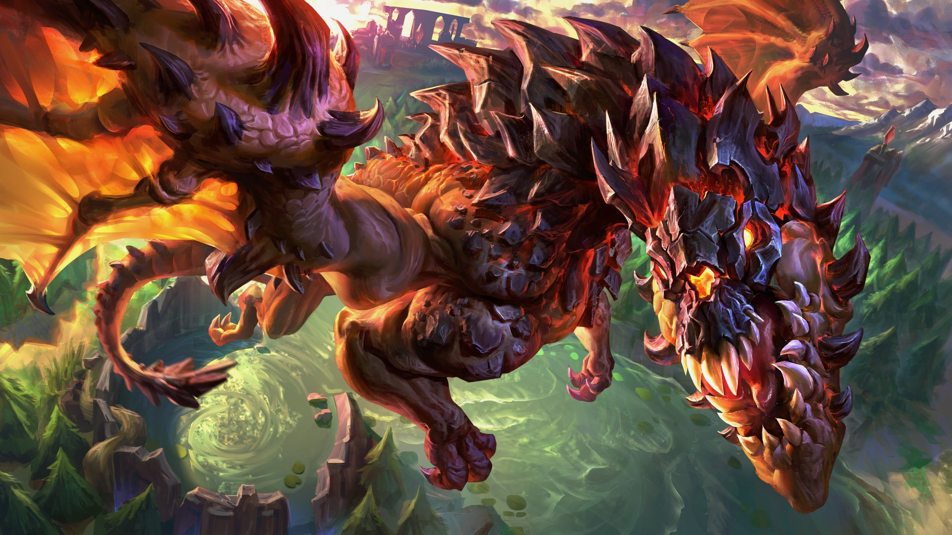 Video Game - League Of Legends  Dragon Wallpaper