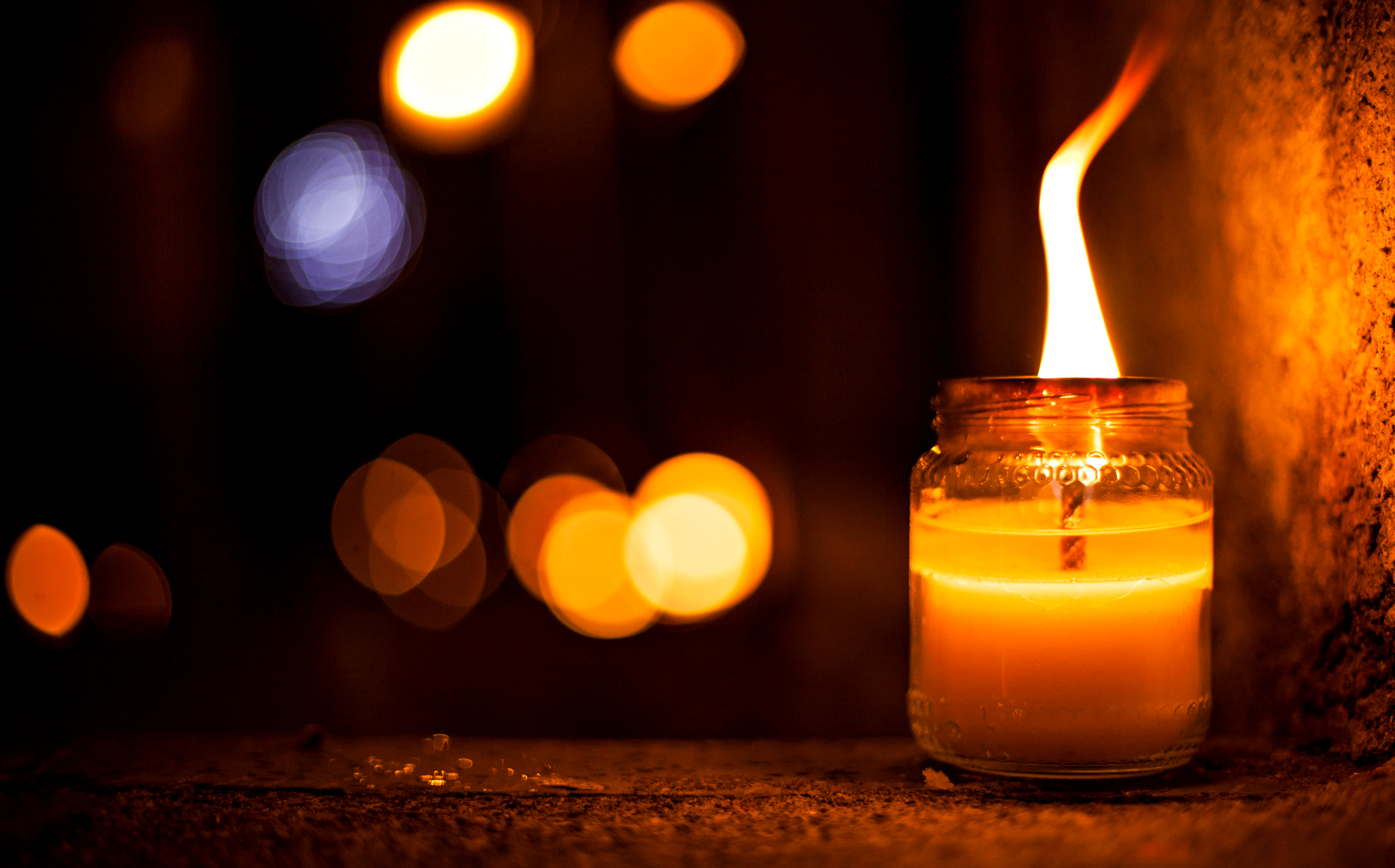 Candle Full HD Wallpaper And Background Image