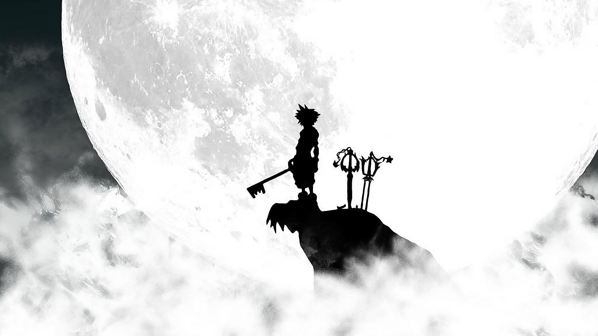 Kingdom Hearts Sora Silhouette HD Wallpaper | Background ...