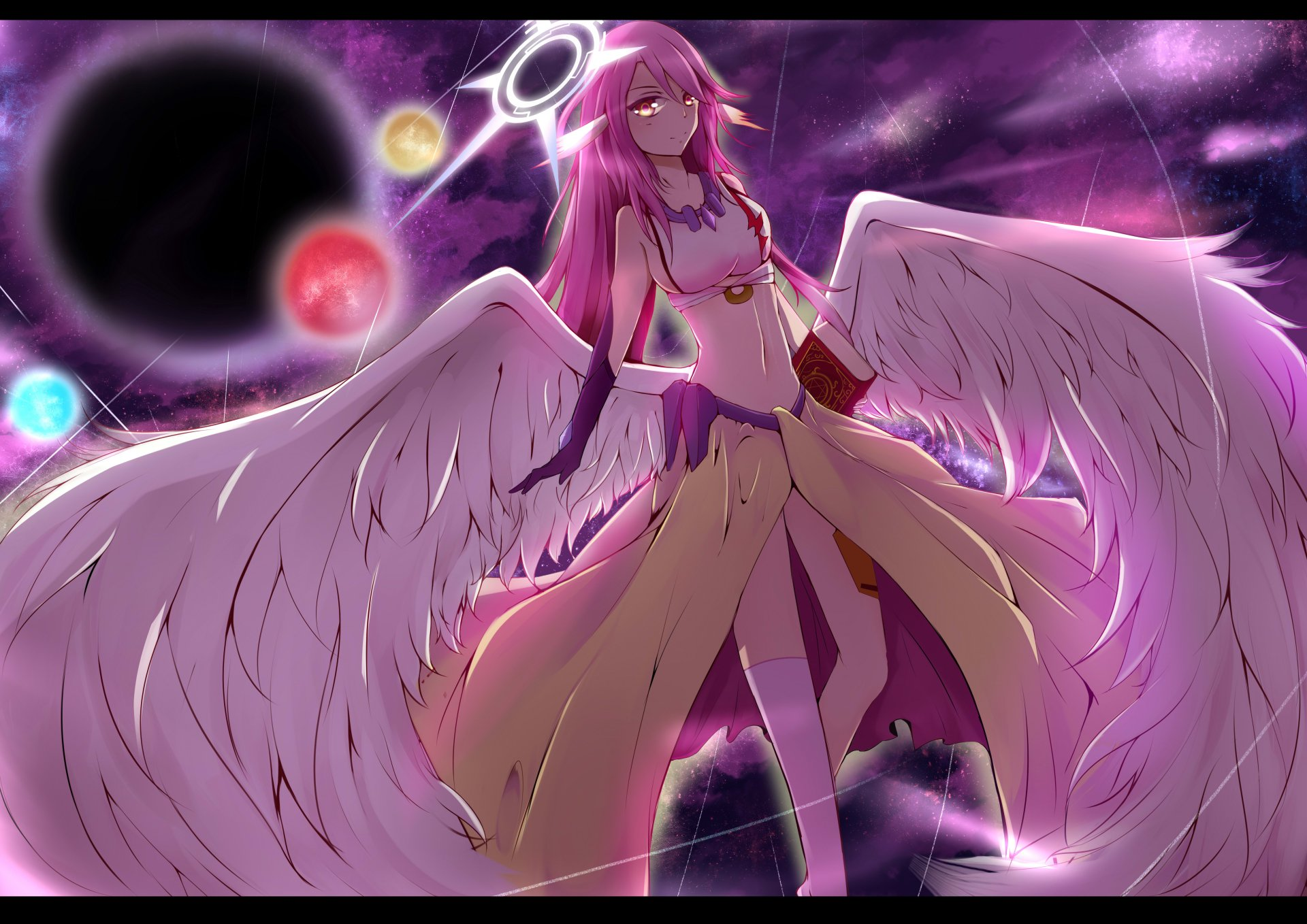 Anime - No Game No Life  Jibril (No Game No Life) Wallpaper
