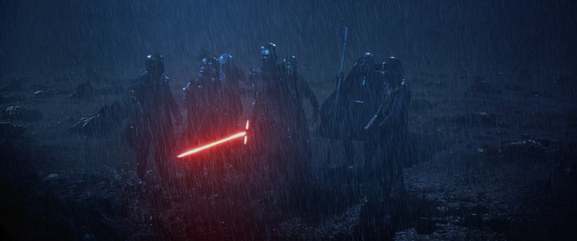 Movie - Star Wars Episode VII: The Force Awakens  Star Wars Kylo Ren Lightsaber Wallpaper