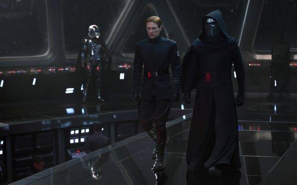 Movie Star Wars Episode VII: The Force Awakens Star Wars Kylo Ren Captain Phasma General Hux Domhnall Gleeson HD Wallpaper | Background Image