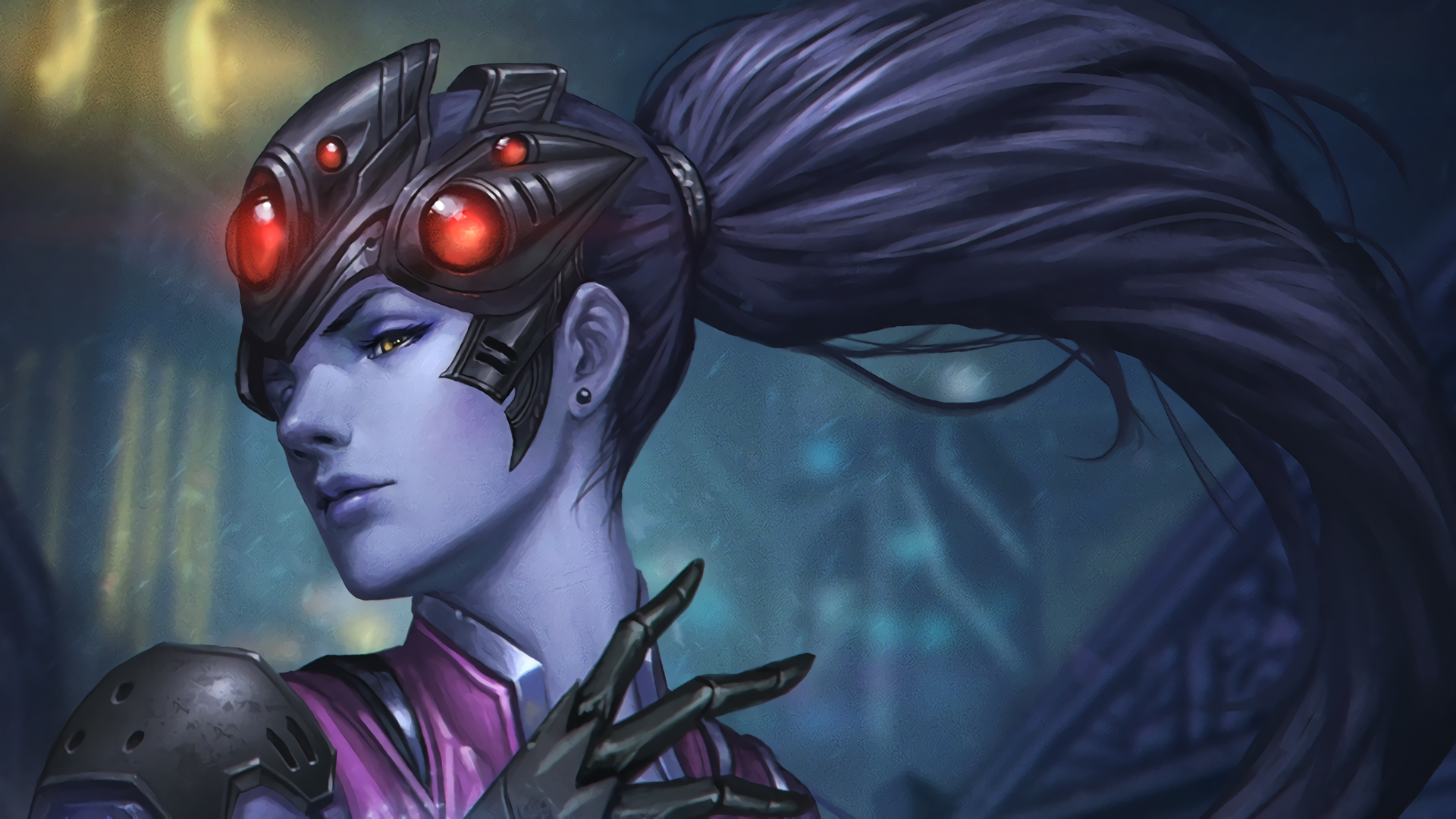 widowmaker overwatch wallpaper 1920x1080 - photo #7
