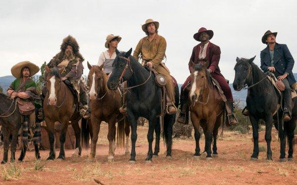 Movie The Ridiculous 6 Adam Sandler Horse Rob Schneider Taylor Lautner Luke Wilson Jorge Garcia Terry Crews HD Wallpaper | Background Image
