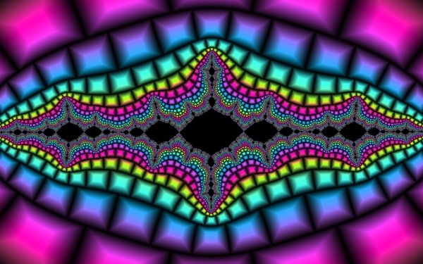 Abstract Fractal Colorful Colors Digital Art Artwork Rainbow HD Wallpaper | Background Image