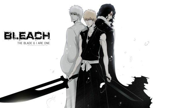 Anime Bleach Ichigo Kurosaki Katana Hollow Ichigo Zangetsu HD Wallpaper | Background Image