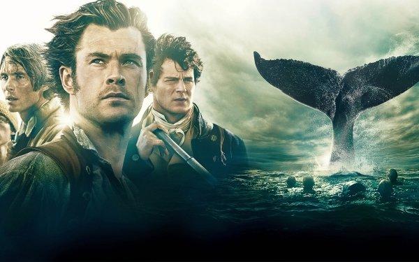 Movie In the Heart of the Sea Cillian Murphy Ben Whishaw Chris Hemsworth Benjamin Walker Tom Holland HD Wallpaper | Background Image