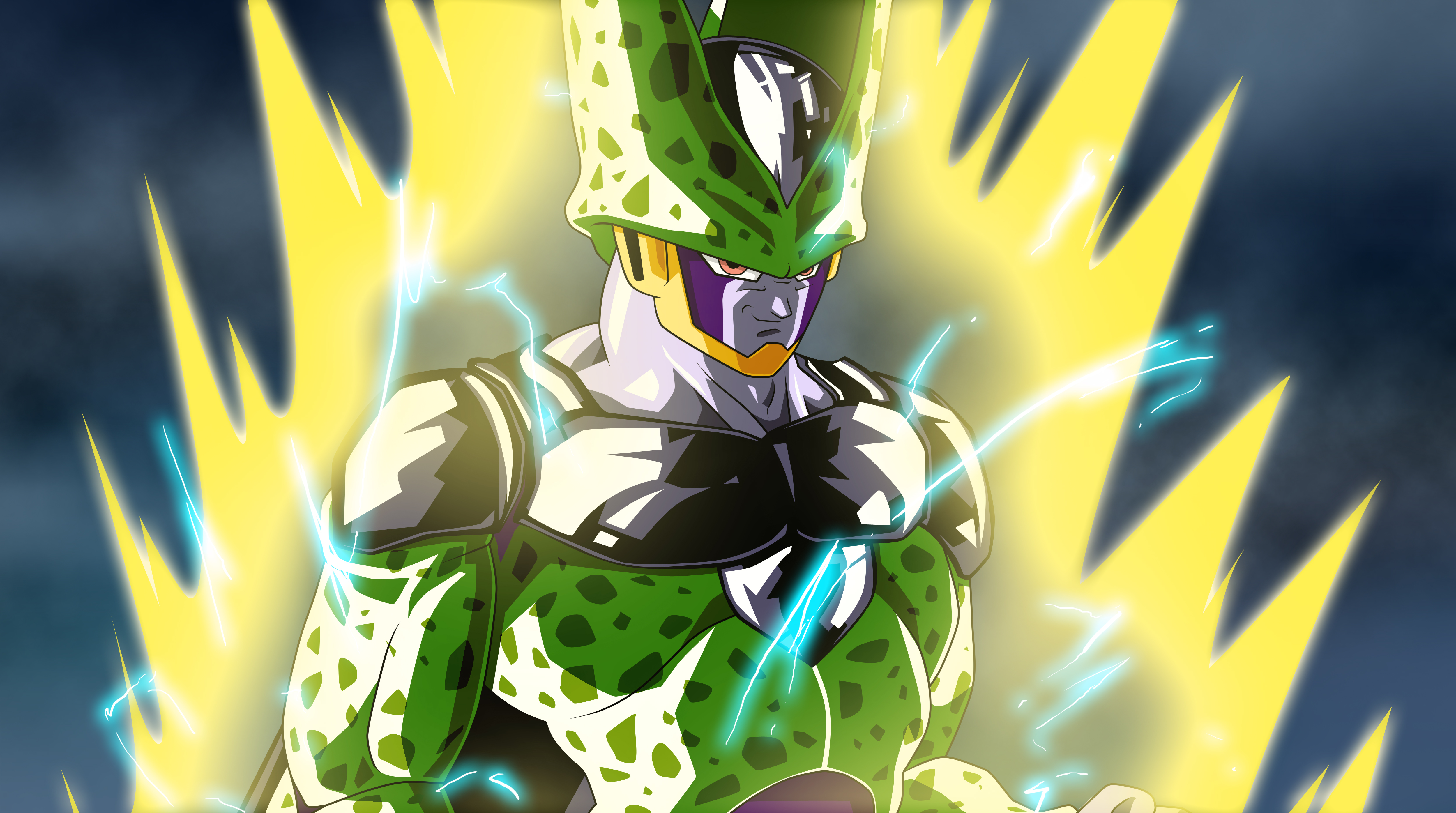Perfect Cell 4k Ultra HD Wallpaper   Background Image ...