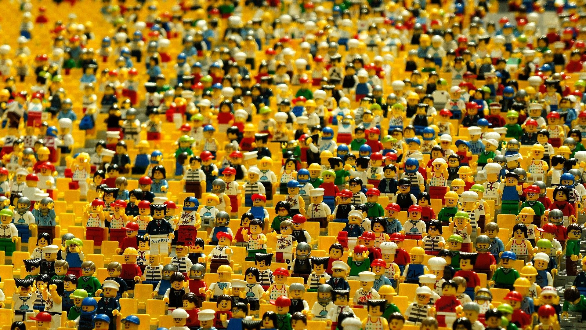 Lego minifigures HD Wallpaper | Background Image | 1920x1080 | ID:673335 -  Wallpaper Abyss