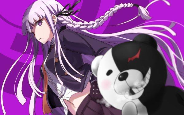 Anime Danganronpa Kyōko Kirigiri Monokuma HD Wallpaper | Background Image