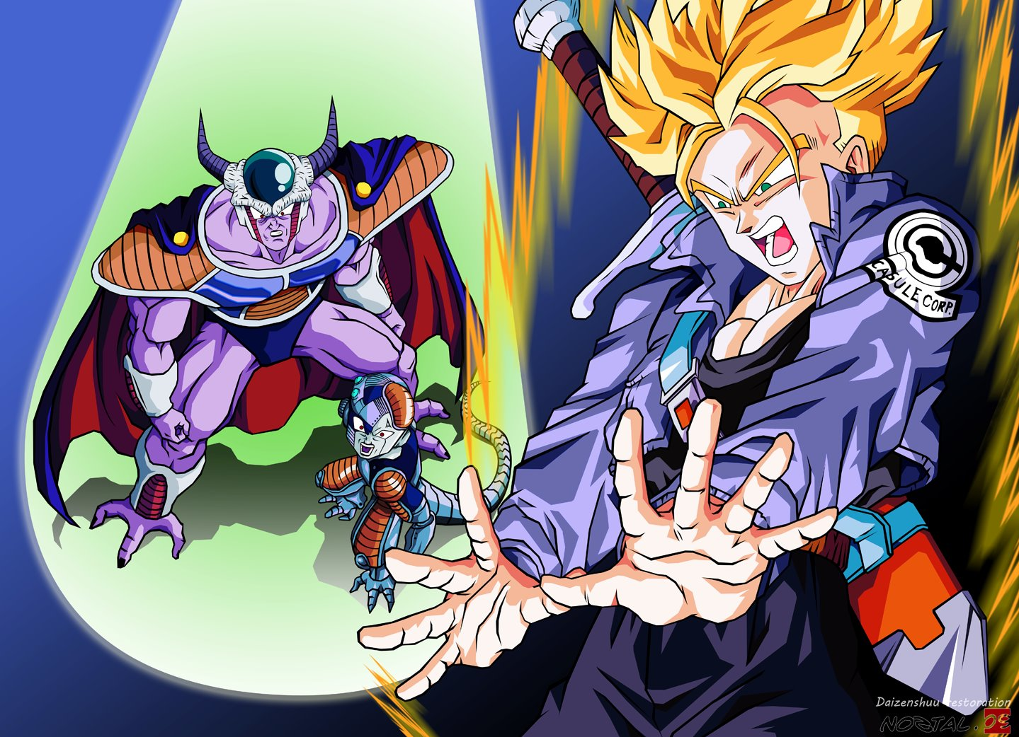 The End Of Frieza Wallpaper And Background Image 1439x1042 Id