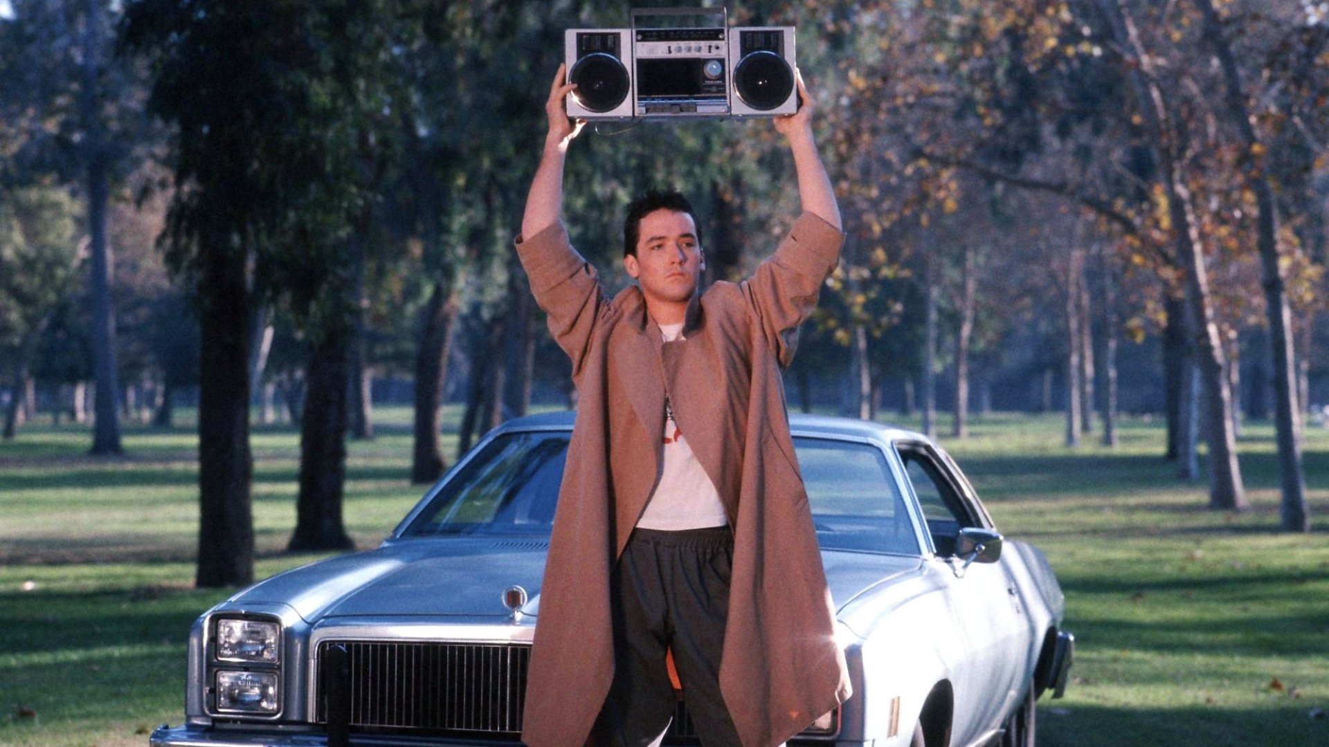 Iconic Scene From Movie Say Anything Fondo De Pantalla Hd