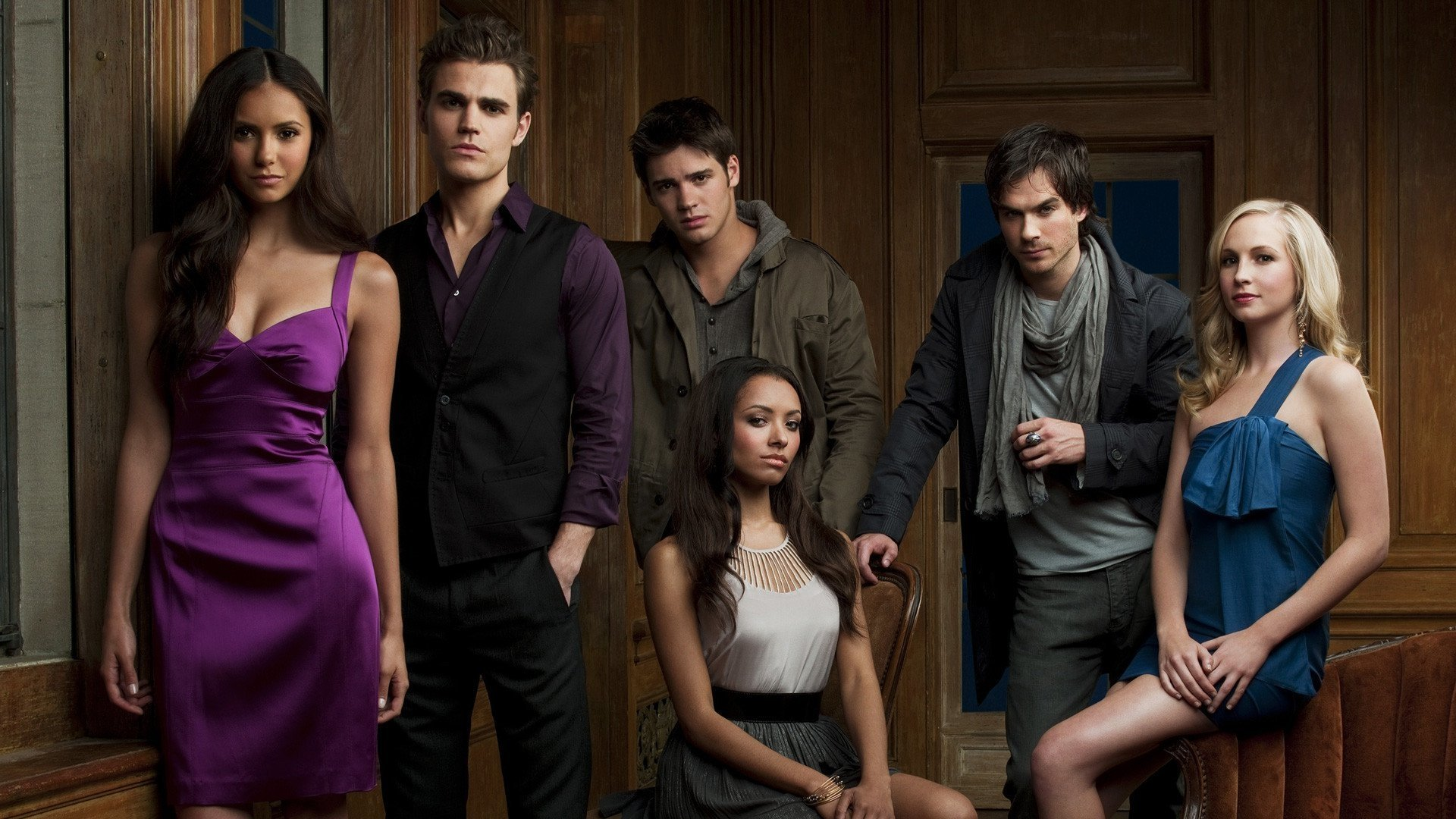 Wallpaper The Vampire Diaries: The Vampire Diaries HD Wallpaper