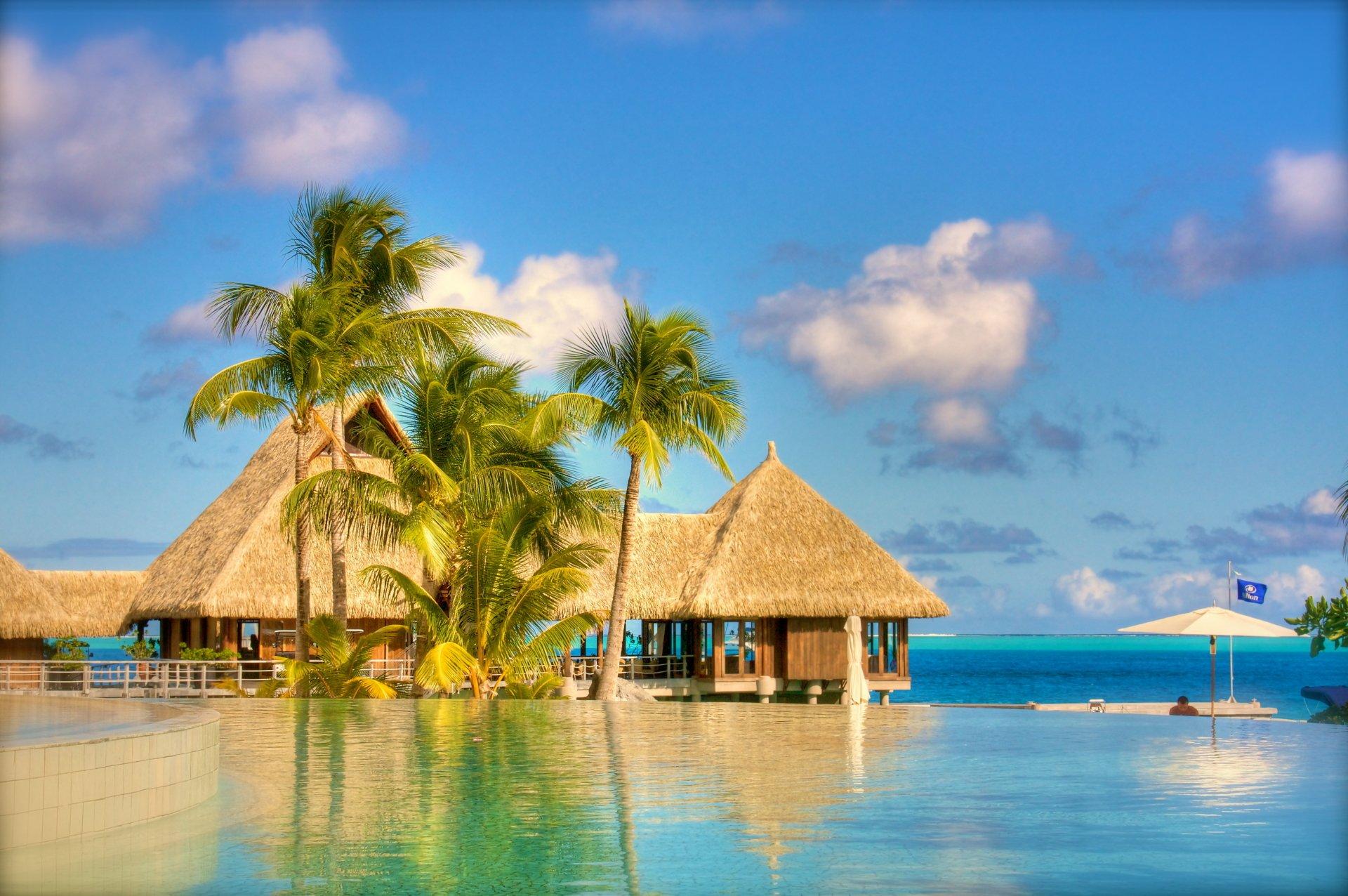 tropical beach resort 4k ultra hd fond d 39 cran and arri re plan 4258x2830 id 675973. Black Bedroom Furniture Sets. Home Design Ideas