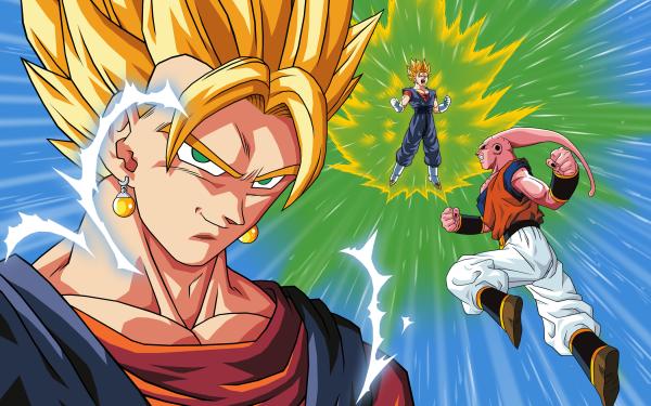Anime Dragon Ball Z Dragon Ball Majin Buu Vegetto HD Wallpaper | Background Image