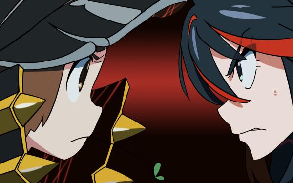 Anime Kill La Kill Ryūko Matoi Mako Mankanshoku HD Wallpaper   Background Image
