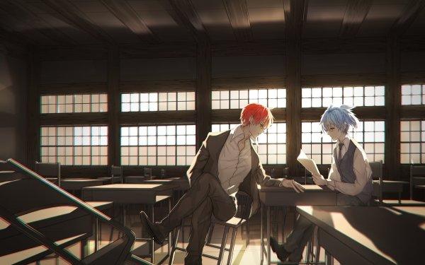 Anime Assassination Classroom Karma Akabane Nagisa Shiota HD Wallpaper | Background Image