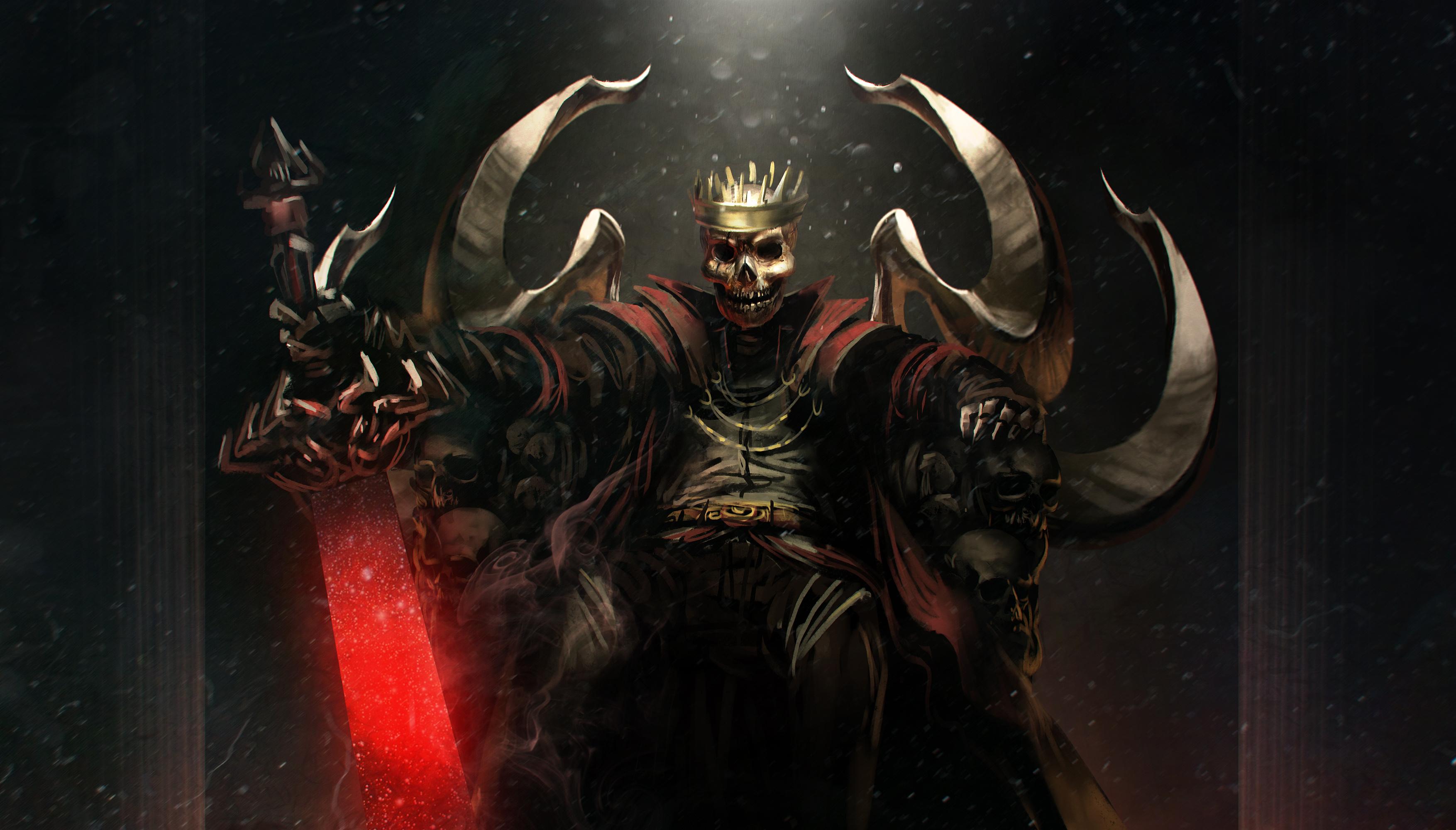 Skeleton Overlord HD Wallpaper