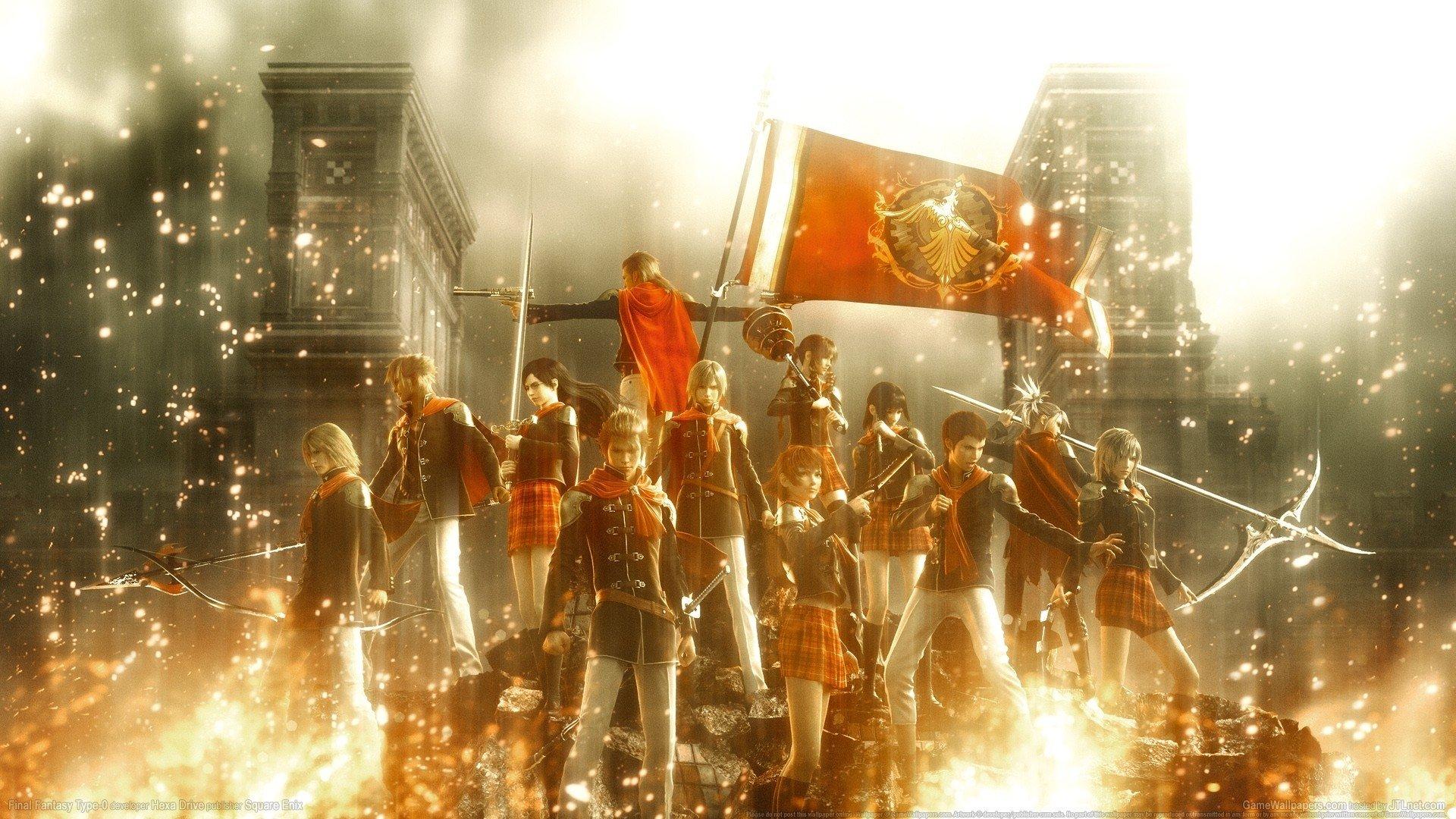 Final Fantasy Type 0 Hd Fondo De Pantalla Hd Fondo De