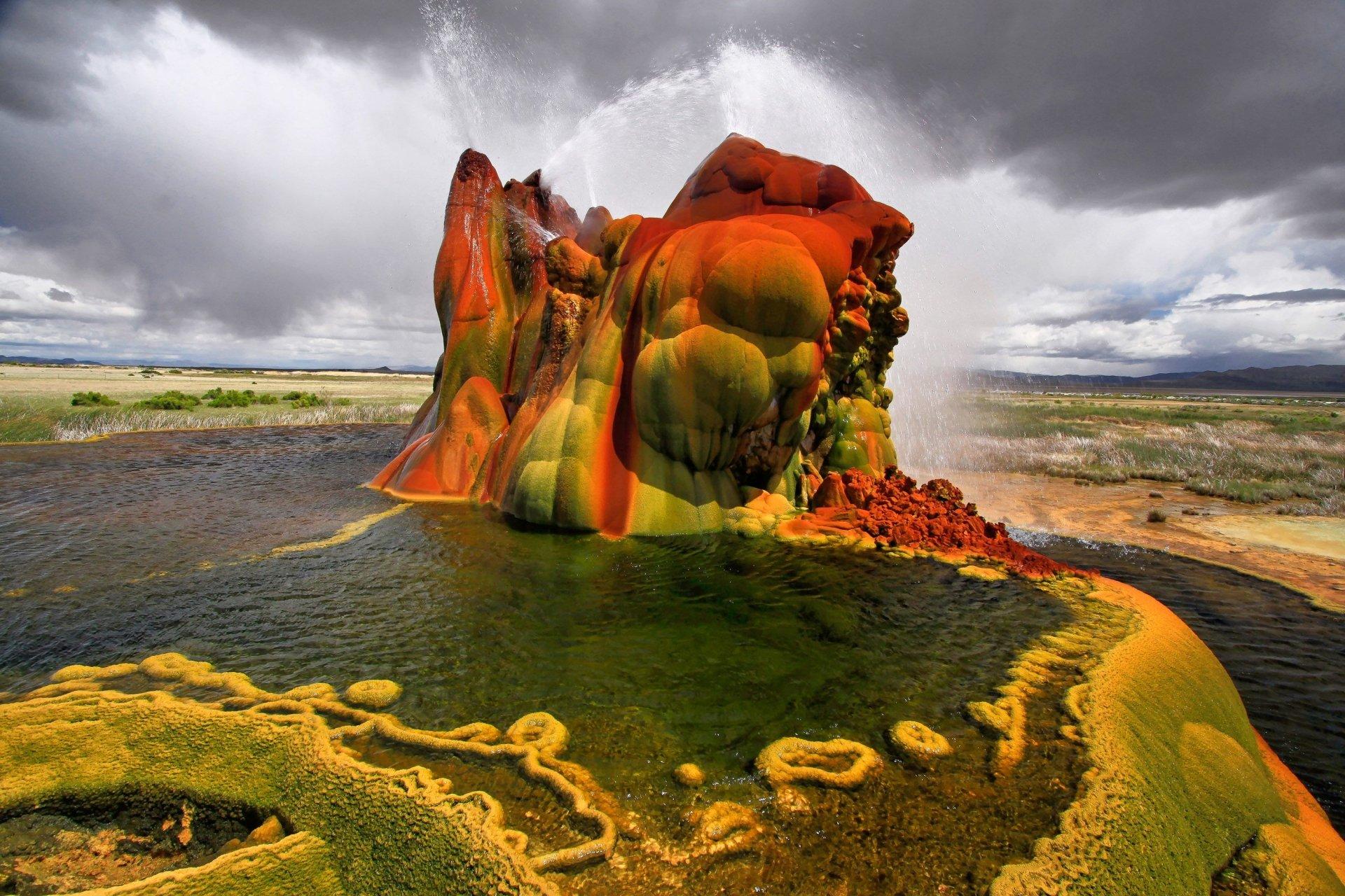 Fly geyser nevada hd wallpaper background image 3000x2000 id 679228 wallpaper abyss - Nevada wallpaper hd ...