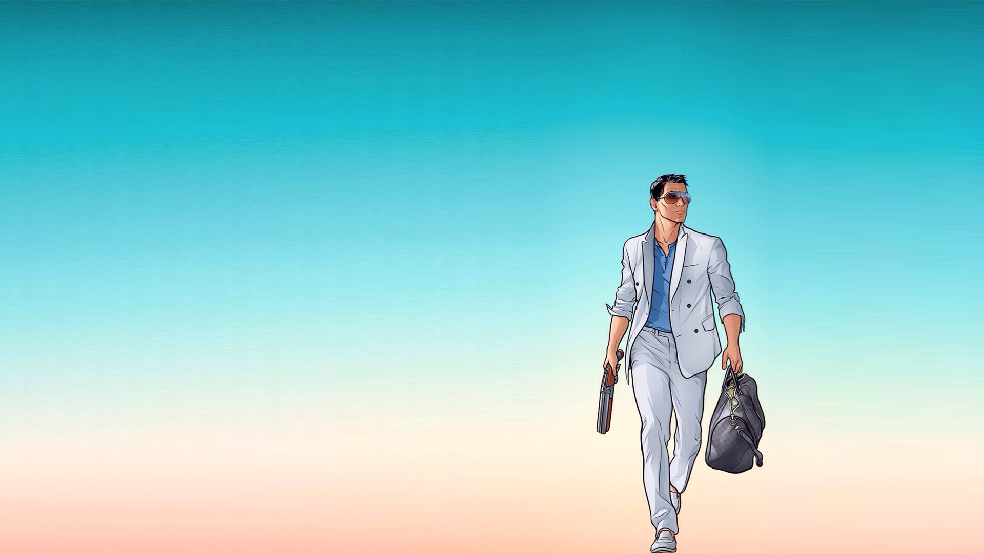 Archer Vice HD Wallpaper | Background Image | 1920x1080 ...