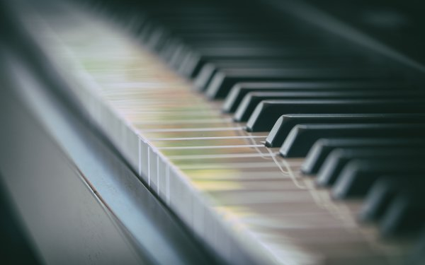 Music Piano Bokeh HD Wallpaper | Background Image