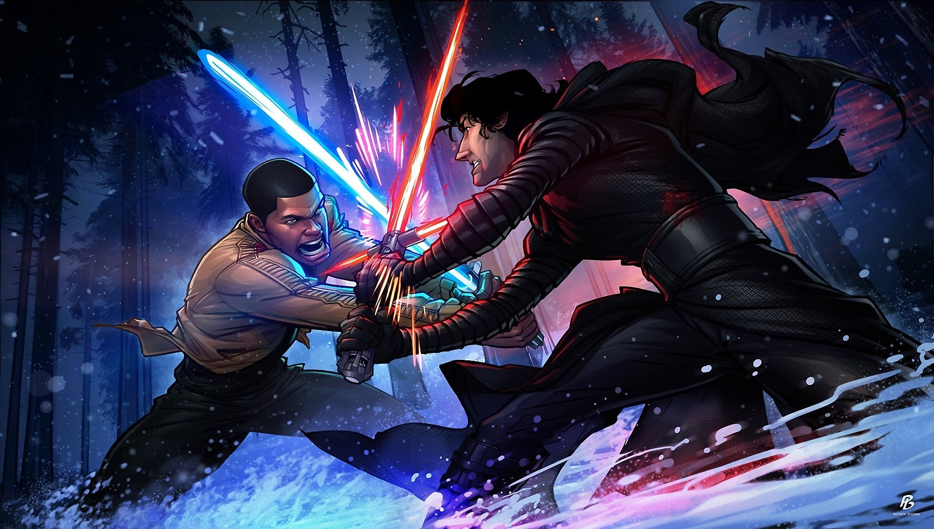 Star Wars The Force Awakens Papel De Parede Hd Plano De Fundo