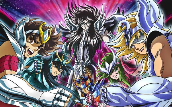 Anime Saint Seiya Pegasus Seiya Andromeda Shun Cygnus Hyoga Dragon Shiryu Phoenix Ikki HD Wallpaper | Background Image