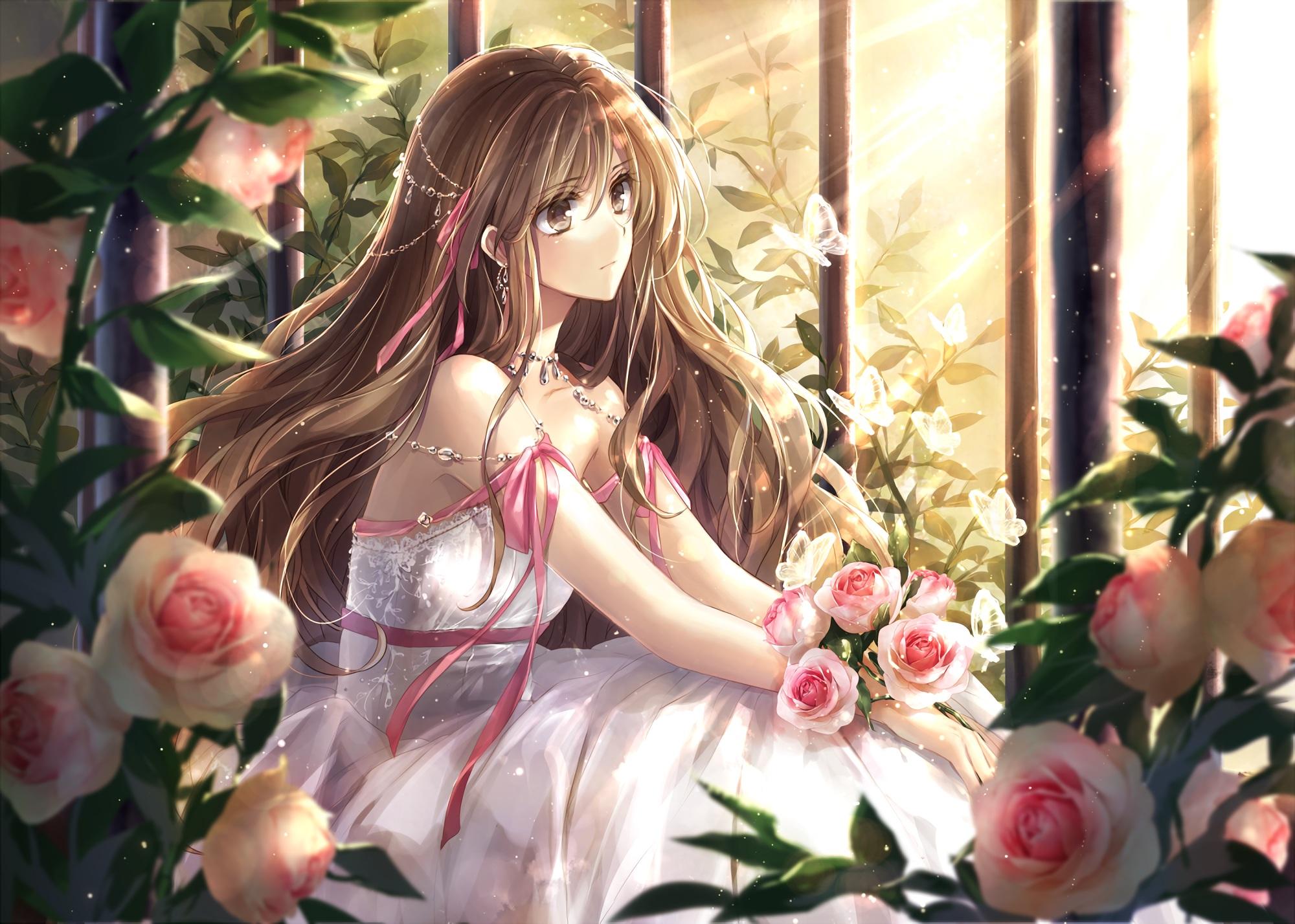 anime girl hd wallpaper | background image | 2000x1428 | id:681351