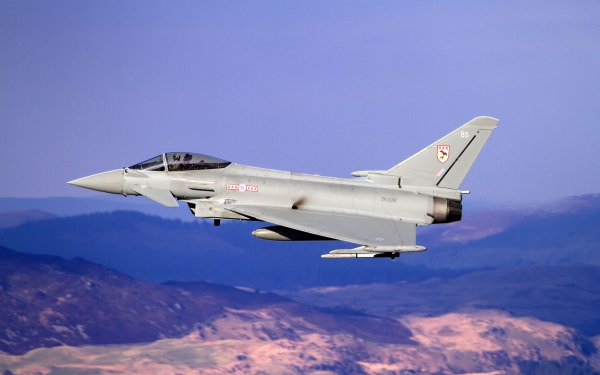 Military Eurofighter Typhoon Jet Fighters Jet Fighter Warplane Aircraft HD Wallpaper | Background Image