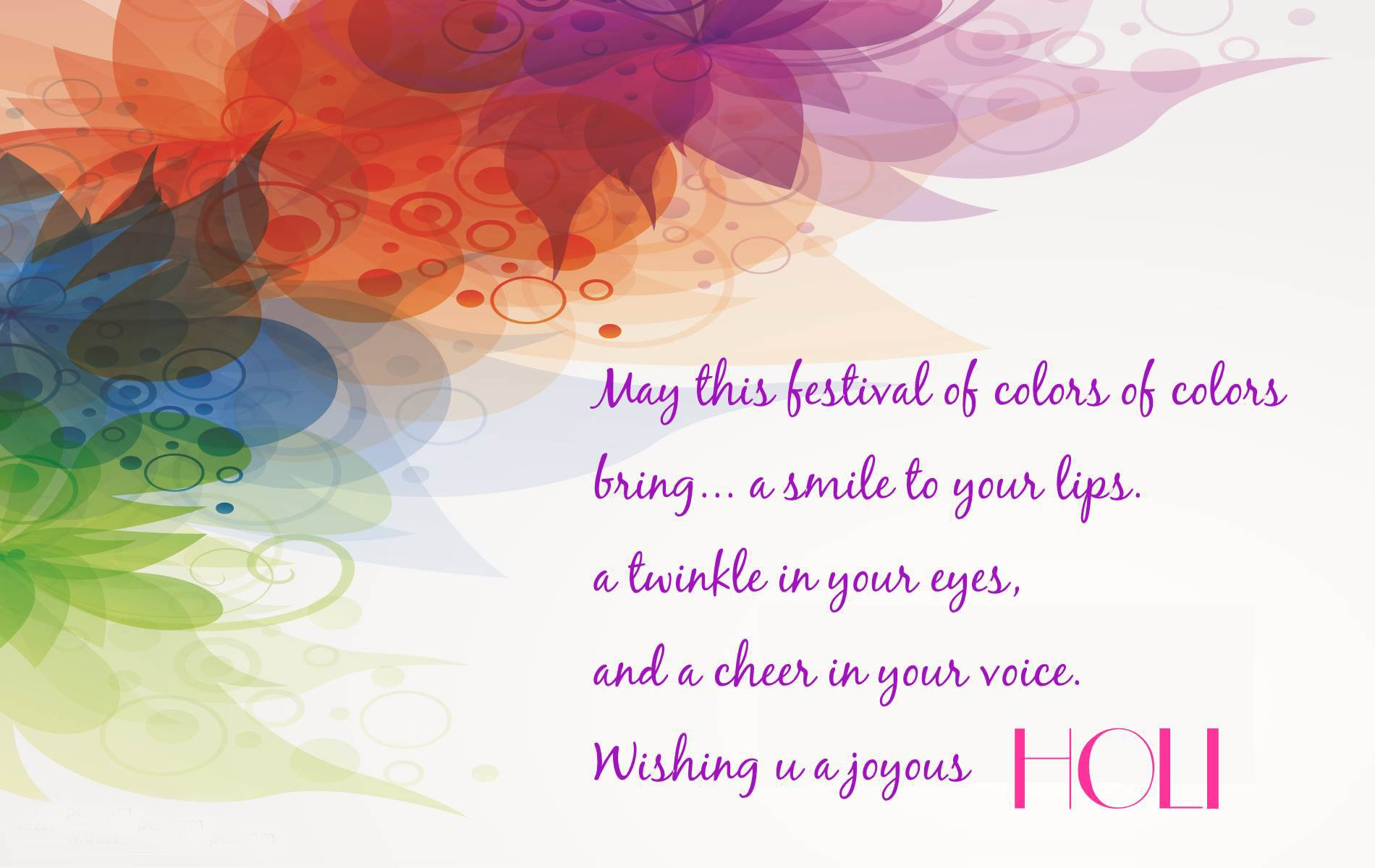 Holiday - Holi  Colors Wallpaper
