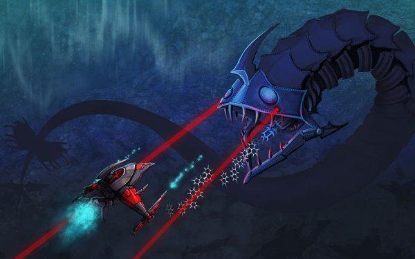Video Game Darius Twin Creature Sea Monster HD Wallpaper   Background Image